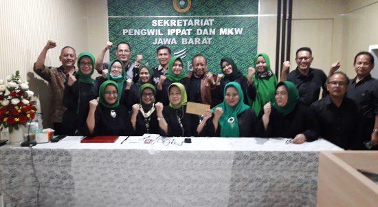 Konferensi Pers yang digelar Pengwil IPPAT Jabar di kantor Sekretariat Pengwil IPPAT Jabar
