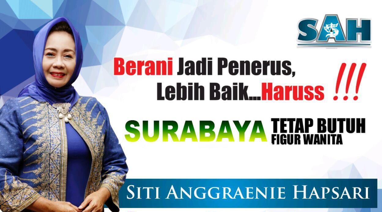 Siti Anggraeni Hapsari (SAH), Calon Wakil Walikota Surabaya
