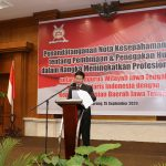 Koordinator Bantuan Hukum Bidang Perlindungan Anggota PP INI, Indradjaja,SH,SpN,MH,M,Kn