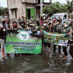 Bhakti Sosial NMI bersinergi dengan PERSIT Kodim 0718 Pati - HIPAKAD - FKPPI pada hari Senin (15/2/2021) di desa Kosekan Kecamatan Gabus Kabupaten Pati