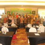 INI-IPPAT Pengda Kabupaten Magelang foto bareng usai acara Sosialisasi E-PHTB bersama DJP Magelang