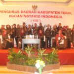 Jajaran Pengurus Daerah Kabupaten Tegal Ikatan Notaris Indonesia