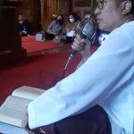 Ketua Pengwil Jawa Tengah INI, Widhi Handoko Sedang Memberikan taushiyah
