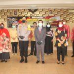 Kapolres Banjarnegara, AKBP Fahmi Arifianto,SH berfoto dengan Pengda Kabupaten Banjarnegara Ikatan Notaris Indonesia