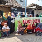 Foto bersama Pengda Kabupaten INI - IPPAT Demak dengan anak-anak Panti Asuhan Ki Ageng Fatah