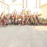 Foto Bersama Peserta Gowes Bareng PPAT-Notaris sOLO RAYA di Colomadu